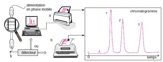 Principe de l'analyse par chromatographie.