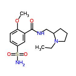 Sulpiride Structure