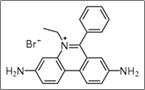 Figure 3.7. Structure chimique du Bromure d'éthidium (BEt)
