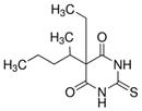 Figure 6.5. Structure du thiopental