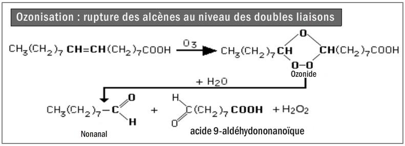 Figure 9.13. Ozonisation des alcènes