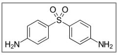 Structure de la dapsone